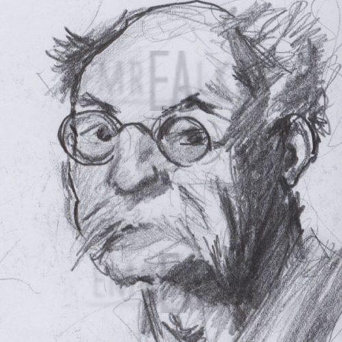 çizim yaşlı adam