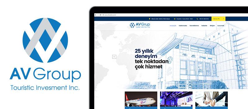 av turistik kurumsal kimlik prestij kataloğu web sitesi tasarımları