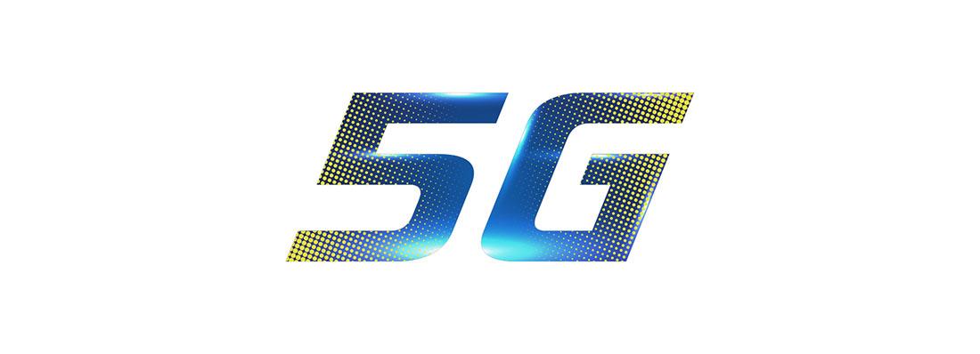 5G logo tasarım internet logosu
