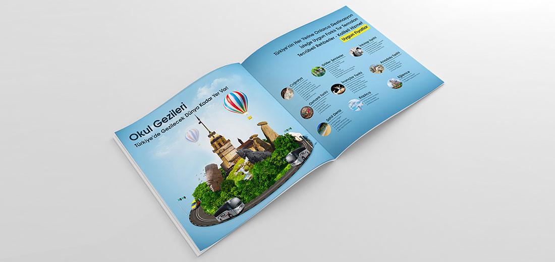 turizm broşür tasarımı