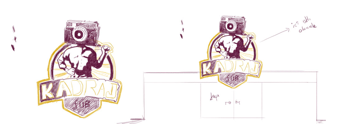 bar pub logo design emre alkaç