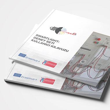 kitap kapak tasarımı kullanıcı kılavuzu tasarım emre alkac apec smartlight deney seti