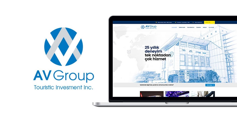 av grup kurumsal web sitesi