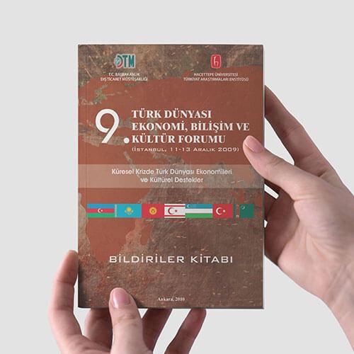 hacettepe üniversitesi bildiriler kitabı tasarım