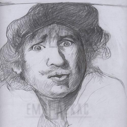 rembrandt sketches