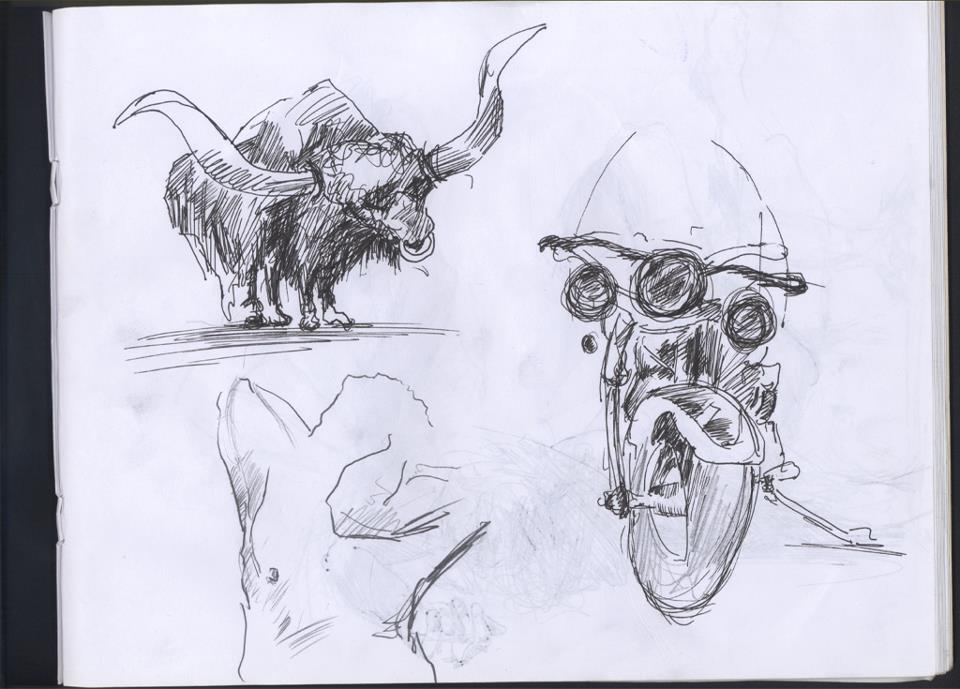 emre alkaç sketches