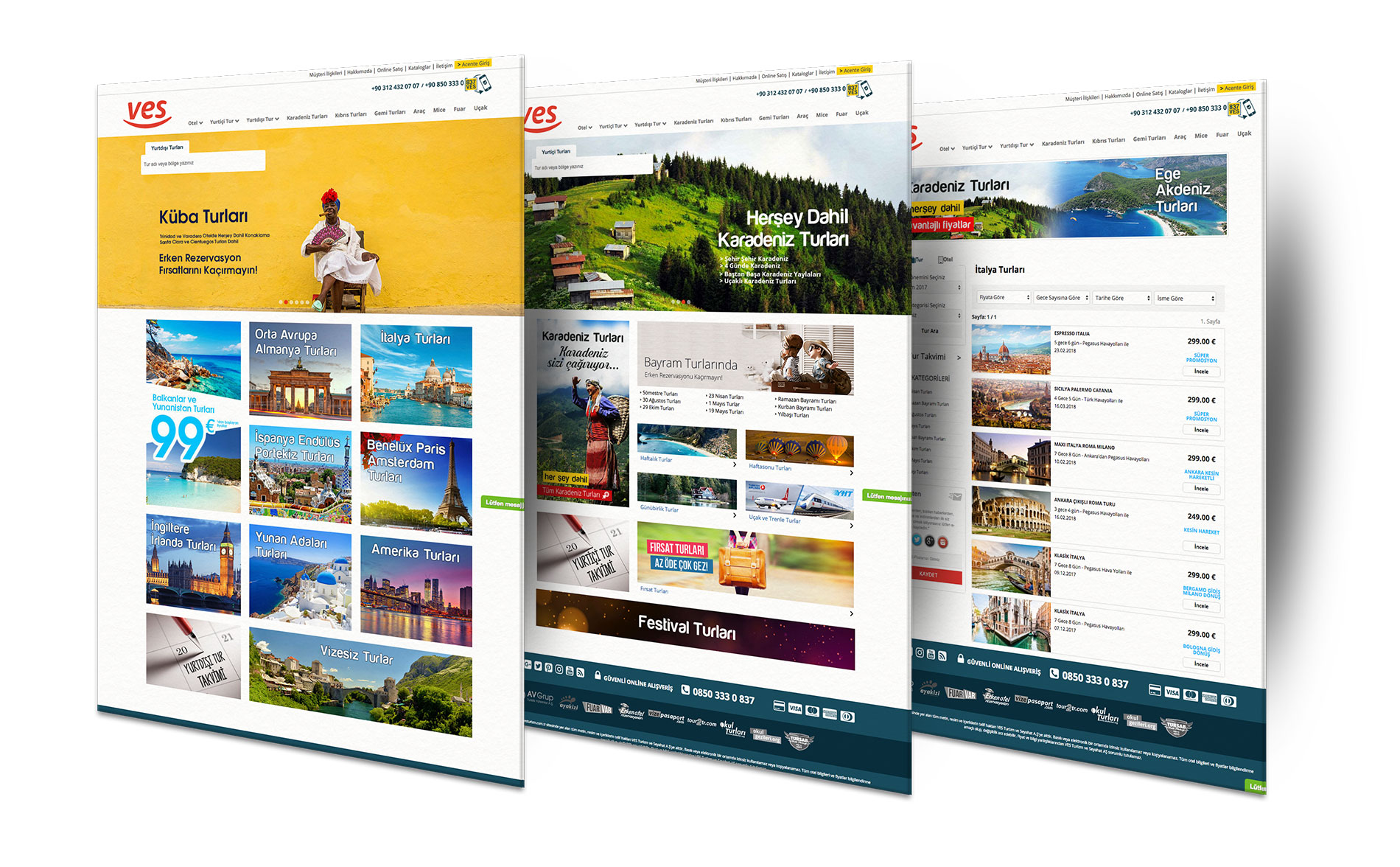 ves turizm web sitesi