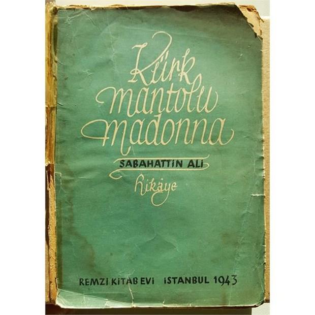 1943 kürk mantolu madonna kitap kapak
