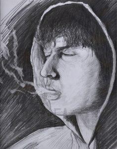 obeno tamay smoke draw çizim