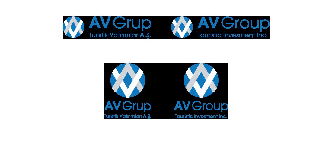 av grup logo
