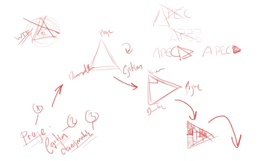 logo sketches taslak