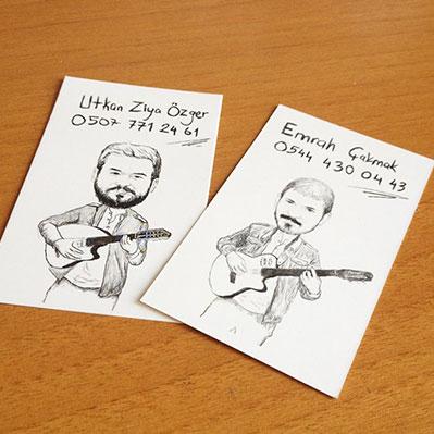 karikatür kartvizit uzun hikaye emrah çakmak