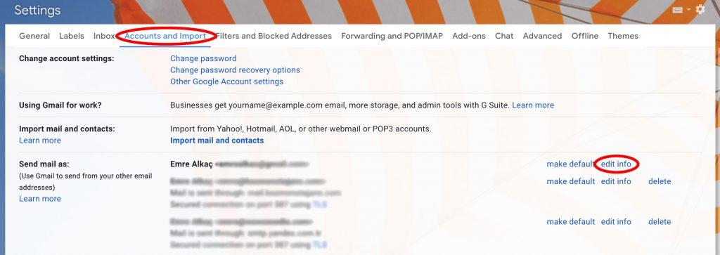 gmail görünen ad nasıl değişir resimli anlatım