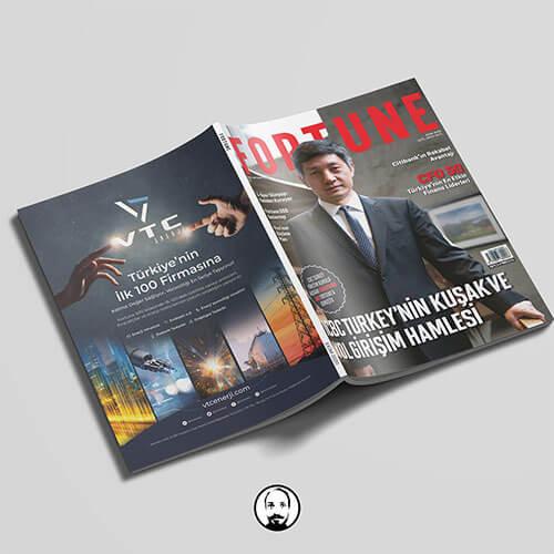 vtc enerji fortune dergisi